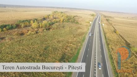Vanzare teren A1 - Autostrada Bucuresti - Pitesti